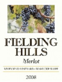 2008 Fielding Hills Tasting Dinner