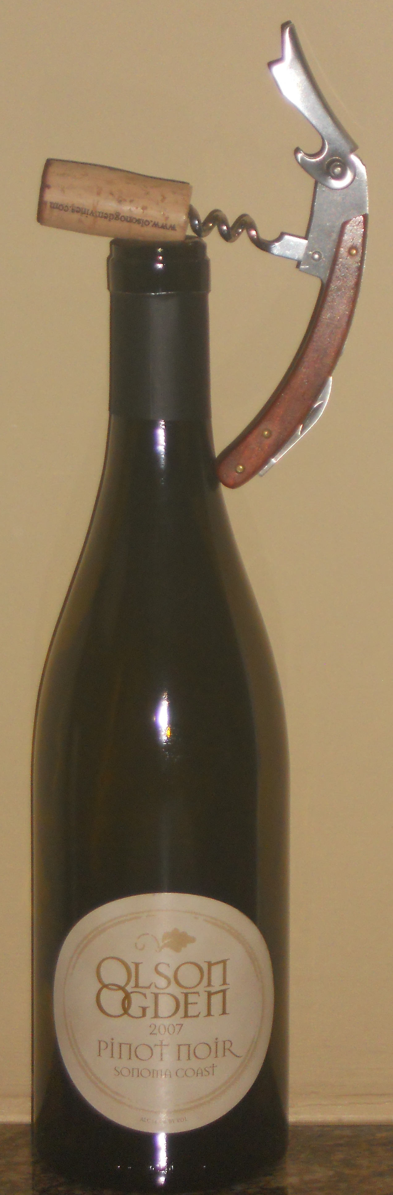 2007 Olson Ogden Pinot Noir, Sonoma, California