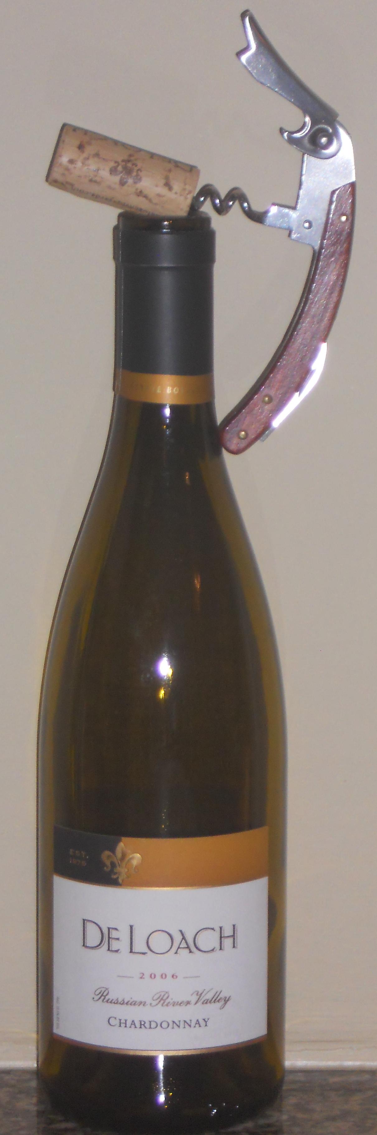 2006 De Loach Chardonnay, Porter-Bass Vineyards, Sonoma County, CA