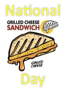 It's National Grilled Cheese Sandwich Day…  Oh, And There's Wine!