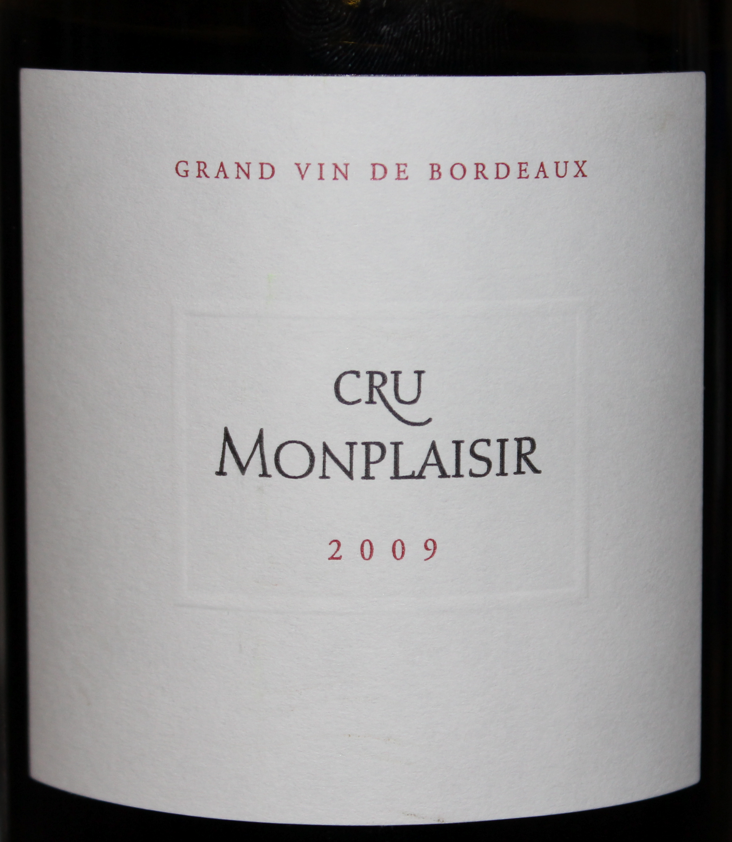 Dancing with the (All-) Stars Week 10, Part 1: 2009 Cru Monplaisir, Bordeaux, France