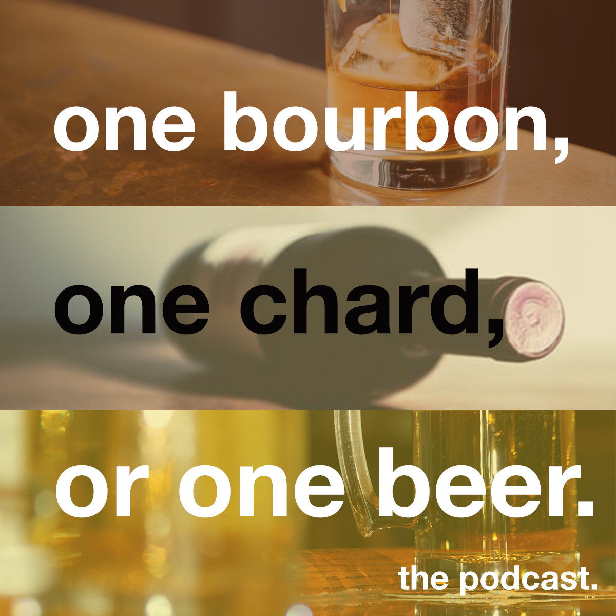 One Bourbon, One Chard, or One Beer Podcast – Kern vs. Amy Briggs & Stub